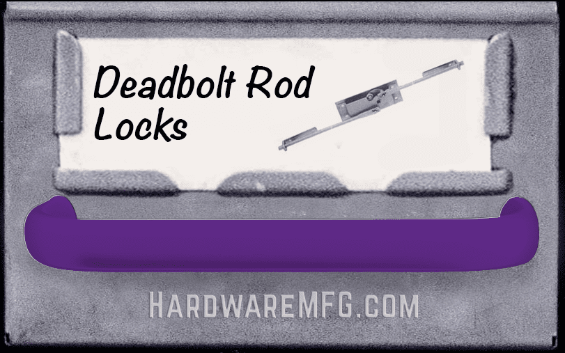 Deadbolt Rod Locks
